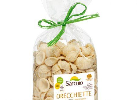 Pack 100% biodegradabile e solo materie prime italiane per la nuova linea di pasta biologica Sarchio