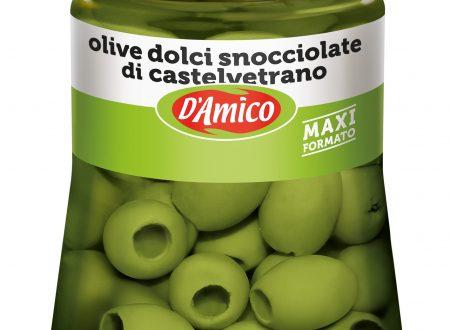 """Arriva sullo scaffale, la linea """"Olive"""" di D'Amico di Castelvetrano"""