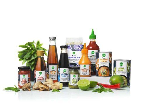 Coop Sweden, propone nella sua offerta food prodotti asiatici