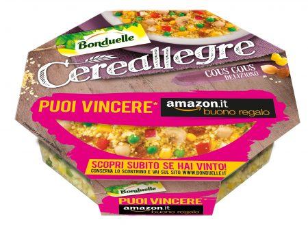 """""""Cosa c'è di buono oggi?"""" con le Cereallegre Bonduelle. In palio buoni regalo Amazon.it!"""