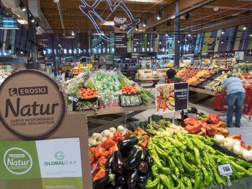EROSKI Natur ha aumentato i prodotti freschi a marchio proprio