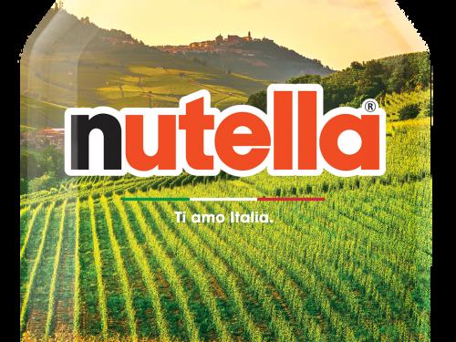 """NUTELLA CELEBRA LA STRAORDINARIETÀ DEL NOSTRO PAESE CON LA SPECIAL EDITION """"TI AMO ITALIA"""""""